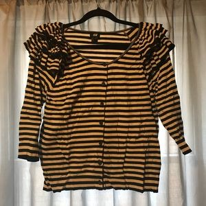 H&M - Stripped Cardigan